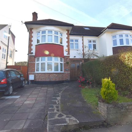 Thumbnail Semi-detached house to rent in Westpole Avenue, Cockfosters