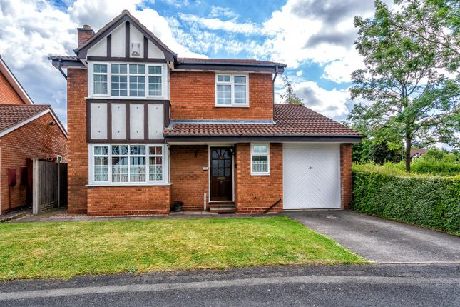Thumbnail Detached house for sale in Ferndown Close, Bloxwich, Walsall