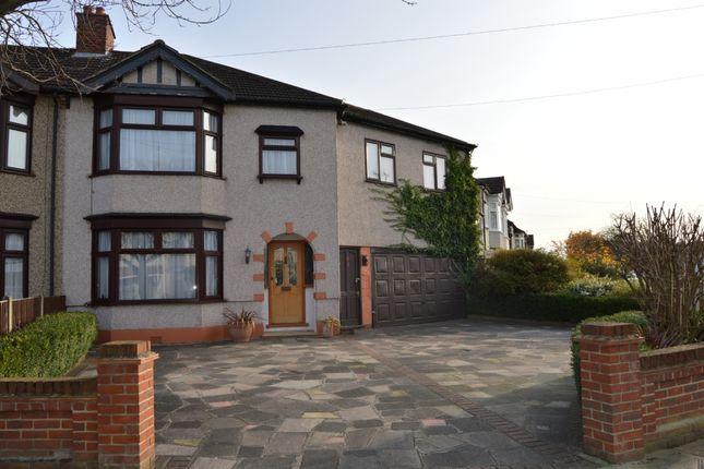 Semi-detached house for sale in Rosslyn Avenue, Harold Wood, Romford