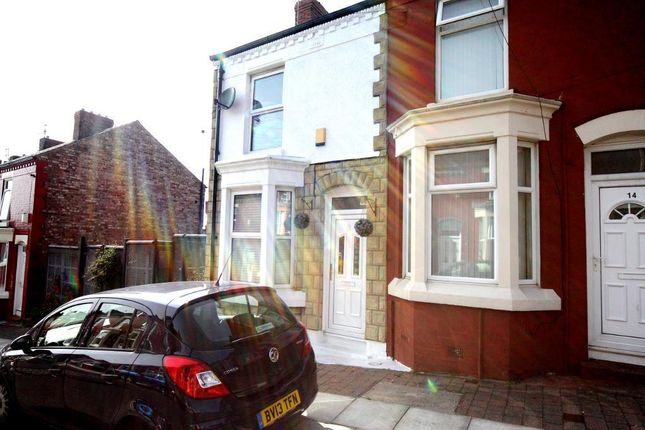 Thumbnail End terrace house to rent in Draycott Street, Dingle, Liverpool