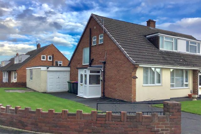 Thumbnail Semi-detached house for sale in Hafren Road, Little Dawley, Telford