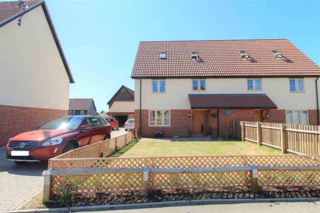 Thumbnail Semi-detached house for sale in East Harling, Norwich, Norfolk