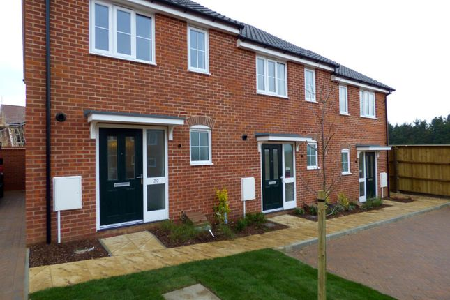 Thumbnail End terrace house to rent in Brooke Way, Stowmarket