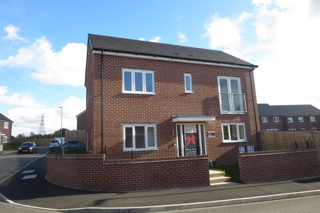 Thumbnail End terrace house for sale in The Webster, Stoke On Trent