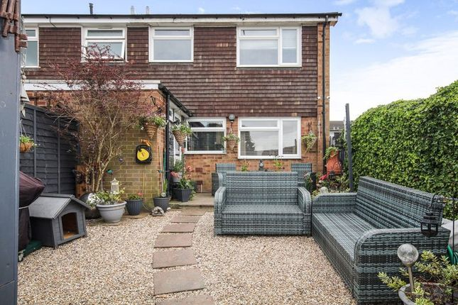 Thumbnail End terrace house for sale in Readers Court, Chelmsford