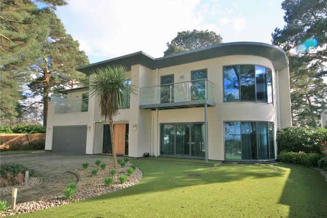 Thumbnail Detached house for sale in Crichel Mount Road, Canford Cliffs, Poole
