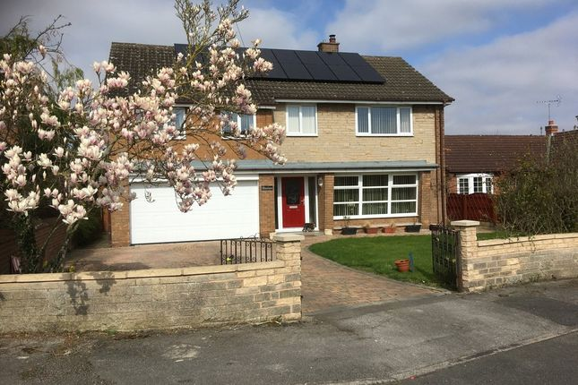 Thumbnail Detached house for sale in Elmsmere Drive, Oldcotes, Worksop