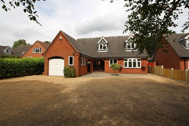 Thumbnail Detached house for sale in Fakenham Road, Taverham, Norwich