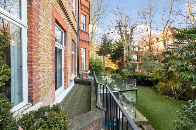Garden of Eton Avenue, Belsize Park, London NW3