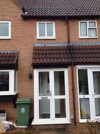 Thumbnail Terraced house to rent in Deerhurst Place, Quedgeley, Gloucester