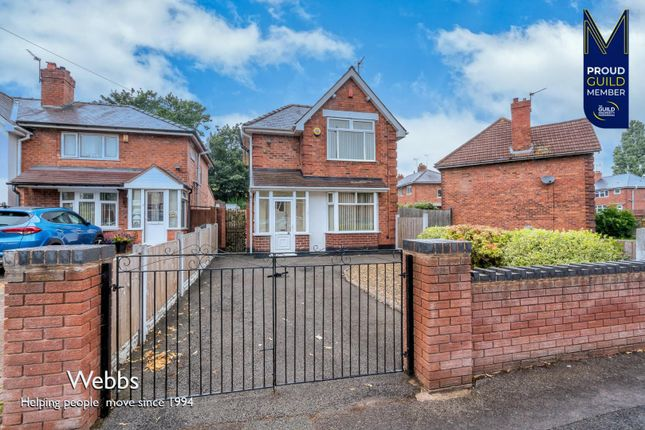 Thumbnail Detached house for sale in Valley Road, Bloxwich, Walsall