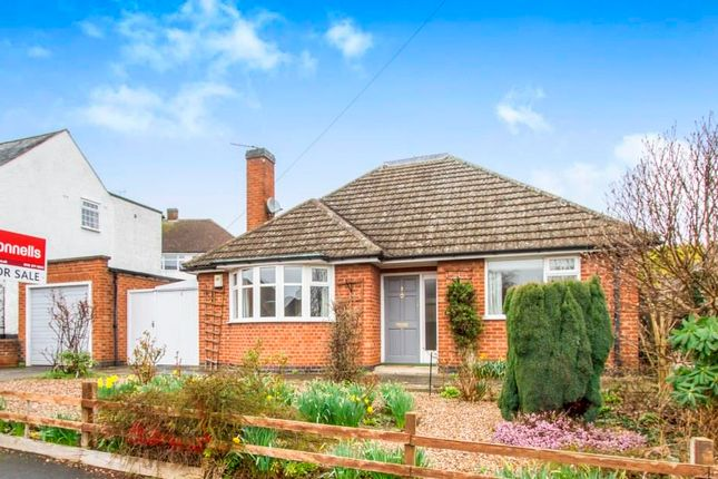 Thumbnail Bungalow to rent in Wayside Drive, Oadby, Leicester
