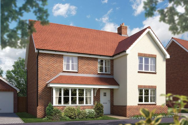 "Thumbnail Detached house for sale in ""The Chester"" at Fullingpits Avenue, Maidstone"