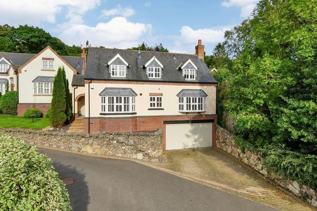 Thumbnail Detached house for sale in Johnscliffe Close, Newtown Linford, Leicester