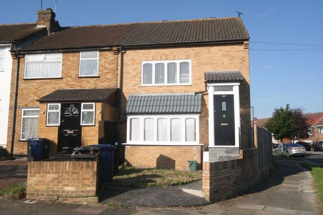 Thumbnail Terraced house to rent in Beechwood Avenue, Greenford