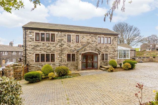 Thumbnail Detached house for sale in Hollin Hall Lane, Mirfield, West Yorkshire