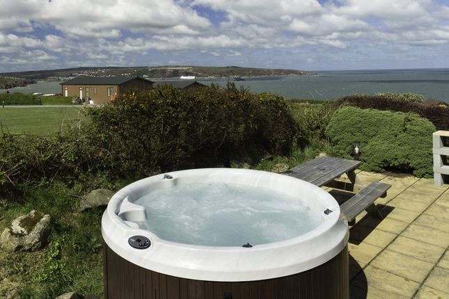 Detached bungalow for sale in Keepers Lodge, Fishguard Bay Resort, Dinas Cross, Newport