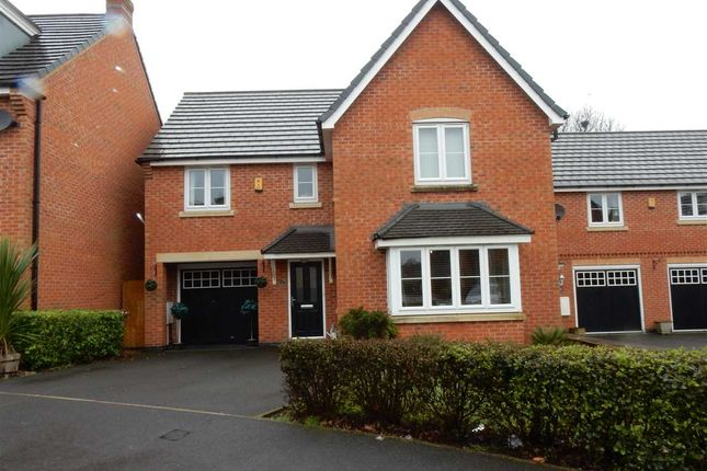 Thumbnail Detached house for sale in Peartree Crescent, Newton-Le-Willows