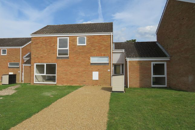 Thumbnail End terrace house for sale in Oak Lane, Raf Lakenheath, Brandon
