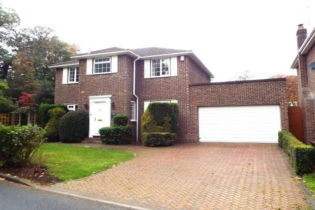 Thumbnail Detached house to rent in Goughs Lane, Warfield, Bracknell