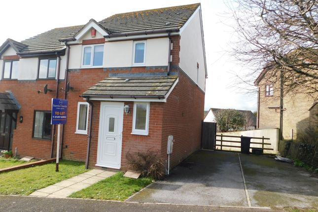 Thumbnail Semi-detached house to rent in Woodcock Way, Chardstock, Axminster