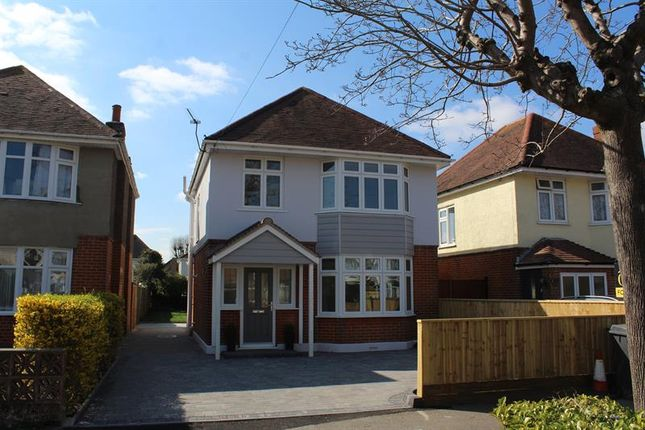 Thumbnail Detached house for sale in Broughton Avenue, Bournemouth