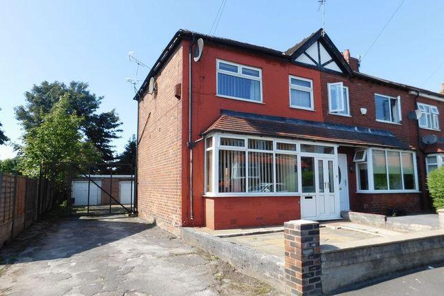 Thumbnail Semi-detached house for sale in Hibbert Crescent, Failsworth, Manchester