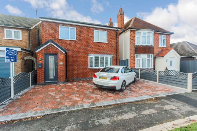 Thumbnail Detached house for sale in Kings Drive, Leicester Forest East, Leicester