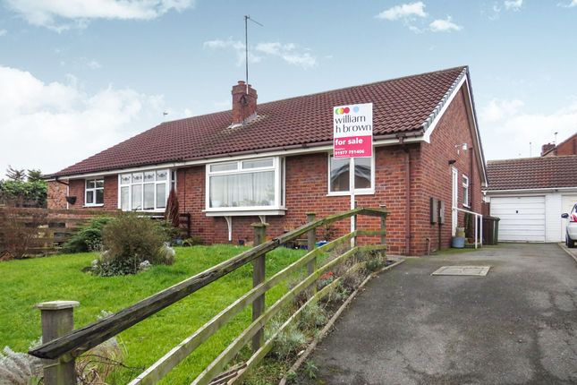Thumbnail Semi-detached bungalow for sale in Nestfield Close, Pontefract