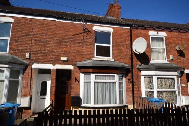 Thumbnail Terraced house to rent in Orpington Villas, Rensburg Street, Hull