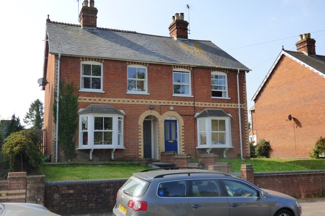 Thumbnail Semi-detached house for sale in Charlton Road, Wantage