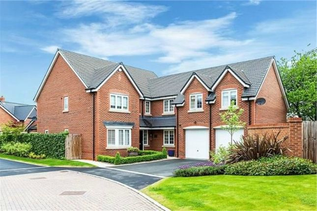 Thumbnail Detached house for sale in Shakerley Place, Somerford, Congleton, Cheshire