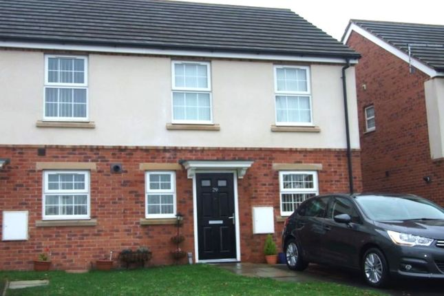 Thumbnail Semi-detached house to rent in Stonefont Grove, Grimethorpe, Barnsley