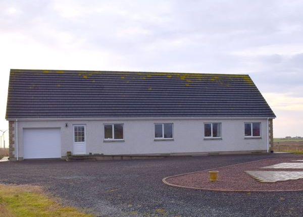 Thumbnail Bungalow for sale in Spring Gardens, Occumster, Caithness