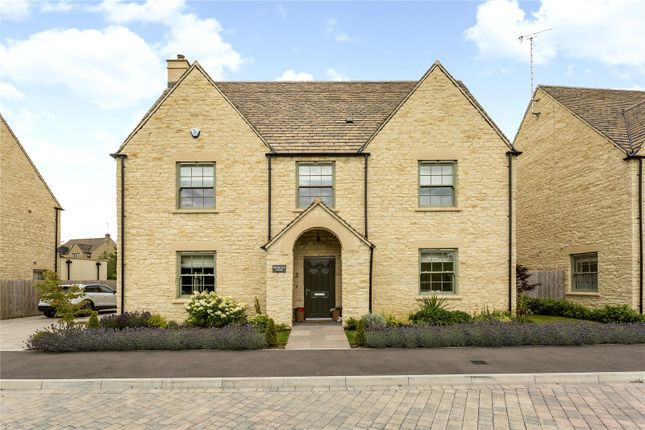 Thumbnail Detached house for sale in Bradley Drive, Northleach, Cheltenham, Gloucestershire