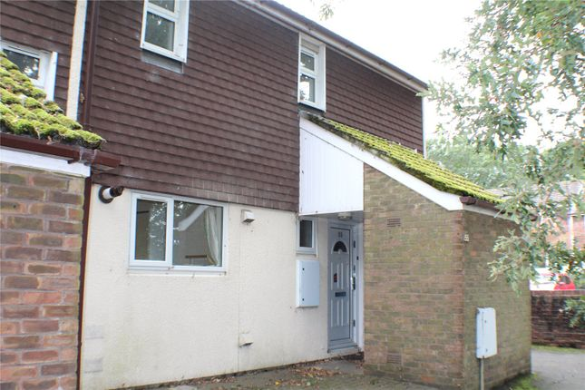 Thumbnail End terrace house to rent in Quetta Park, Church Crookham, Fleet, Hampshire