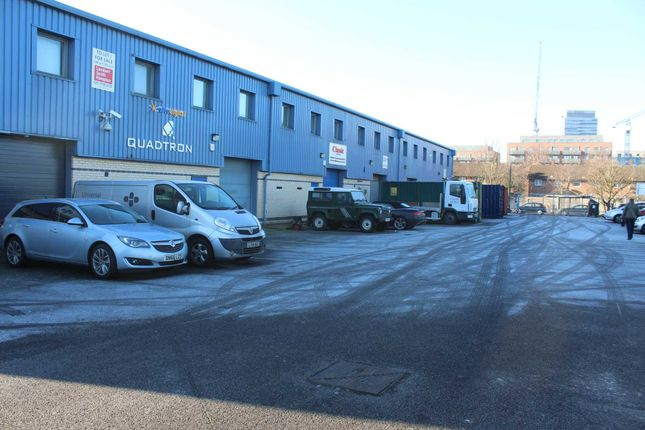 Thumbnail Industrial for sale in Butchers Road, London