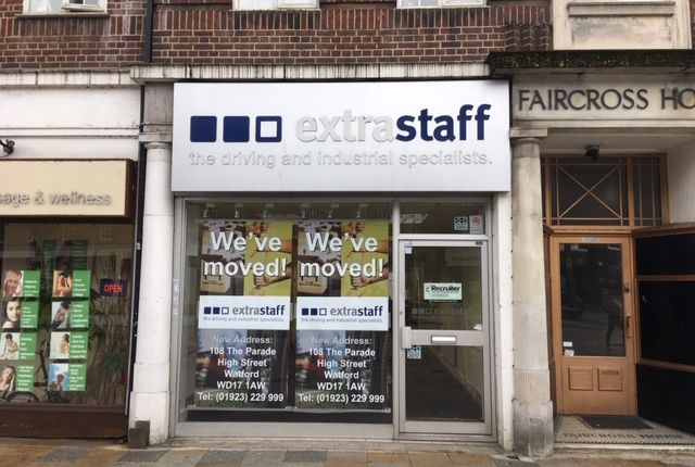 Thumbnail Retail premises to let in Faircross House, 116 The Parade, Watford