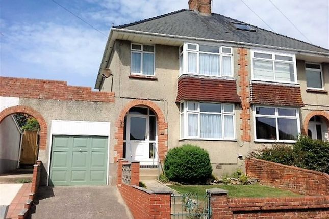 Thumbnail Semi-detached house for sale in Clearmount Road, Weymouth
