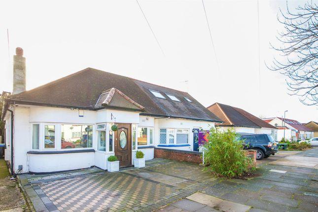 Thumbnail Semi-detached bungalow for sale in Wood Lane, London