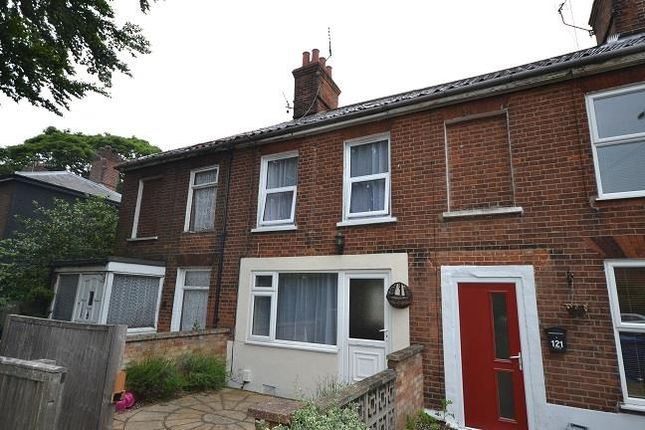 Thumbnail Terraced house to rent in Aylsham Road, Norwich