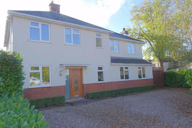 Thumbnail Detached house for sale in Aldridge Road, Burbage, Hinckley