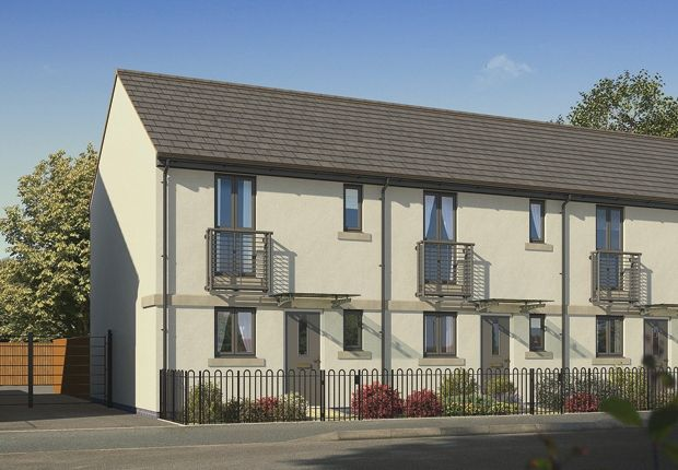 """Thumbnail Terraced house for sale in """"The Campbell"""" at Pomphlett Farm Industrial, Broxton Drive, Plymouth"""