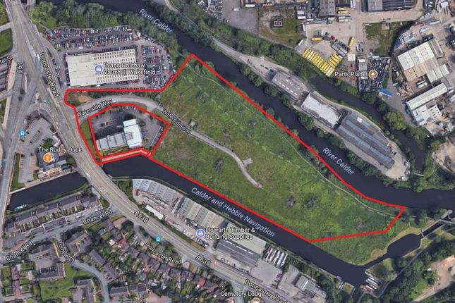 Thumbnail Commercial property for sale in Development Land, Waterside Way, Wakefield
