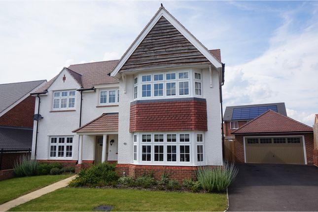 Thumbnail Detached house for sale in Kinnersley Road, Alcester