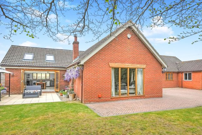 Thumbnail Detached bungalow for sale in The Street, Woodton, Bungay