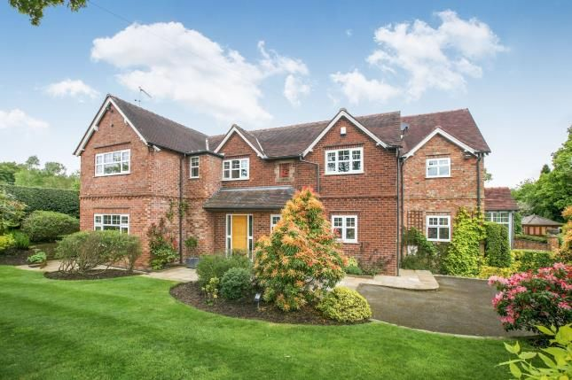 Thumbnail Detached house for sale in School Lane, Over Alderley, Macclesfield, Cheshire