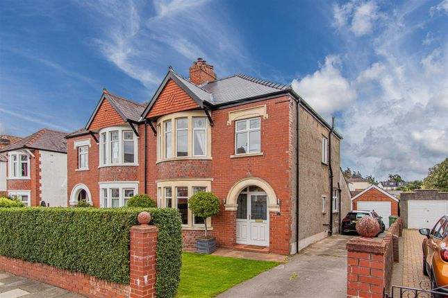 Thumbnail Semi-detached house for sale in Pencisely Rise, Cardiff