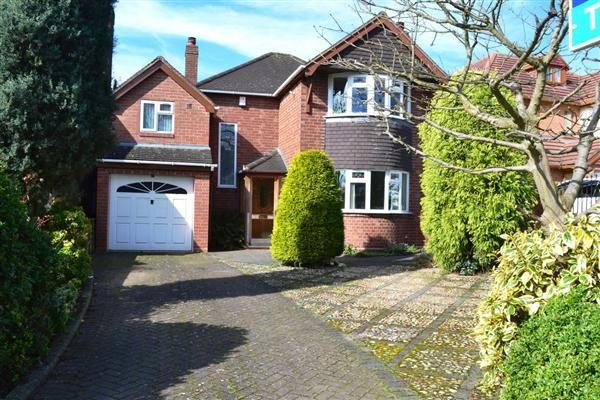 Thumbnail Detached house to rent in Ednam Road, Goldthorn Park, Wolverhampton