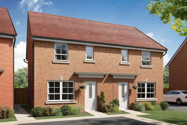 "Thumbnail Semi-detached house for sale in ""Ellerton - Phase 2"" at Inglewhite Road, Longridge, Preston"